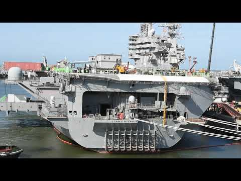 Virtual tour of Naval Station Norfolk
