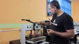 Sublimação Prensa Plana Compacta Print de A a Z