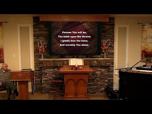 Sunday Service - Nov 22, 2020 - Psalm 119:113-120 Overcoming Double-mindedness