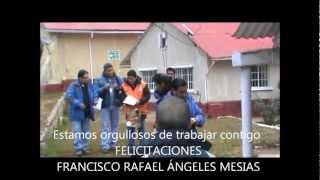 GTH - Trabajador del mes en la Compañía Minera Chinalco Perú (Mayo 2012)