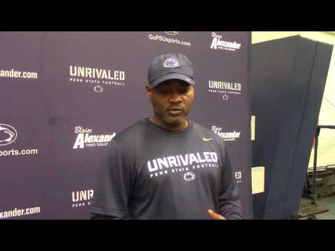 Terry Smith talks corner competition