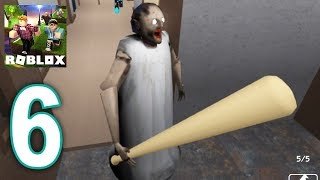 Roblox Granny - Escape Camp Gameplay Walkthrough Part 6 (IOS, ANDROID)