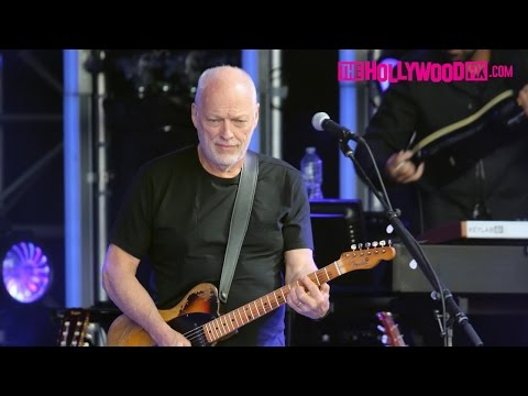 David Gilmour Of Pink Floyd Performs At...
