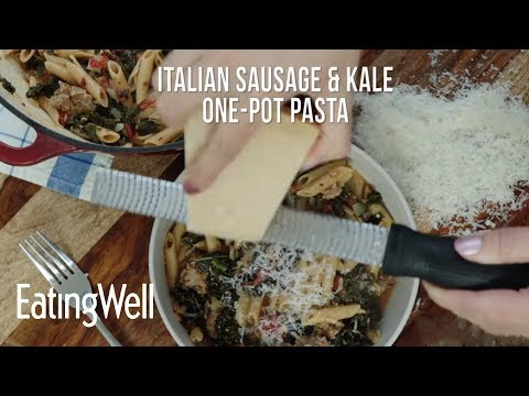 How To Make Italian Sausage & Kale One-Pot Pasta