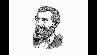 """How to Draw """"Alexander Graham Bell Face"""" pencil drawing step by step"""