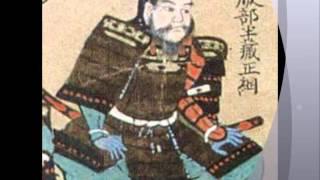 服部半蔵。徳川家康の伊賀流忍者。