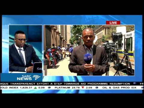 Pretoria CBD has come alive with EFF marching, Tumaole Mohlaoli reports