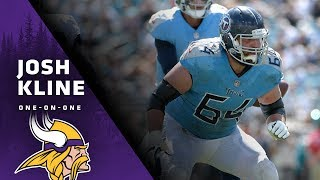 Josh Kline: I'm Excited To Be Part of Something Special With The Minnesota Vikings