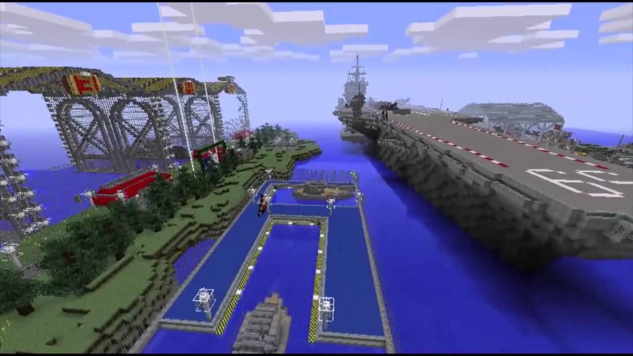 New Naval Battle Zone Minecraft Server Amp Spawn Youtube