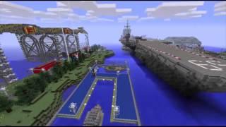 NEW Naval Battle Zone Minecraft Server & Spawn