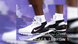 How to Draw Lebron Shoes !! Time Lapse !! Nike Zoom Generation - basketball cavs tutorial james diy