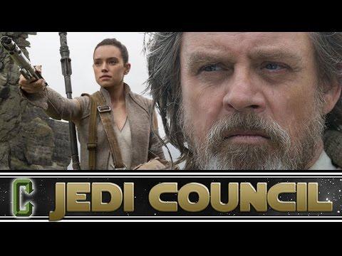 Luke's First Words In The Last Jedi - Collider Jedi Council