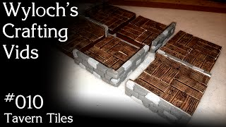 How to Make Tavern Tiles for Dungeons & Dragons, Pathfinder (WCV 010)