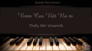 Vươn Cao Việt Nam - Karaoke Piano