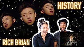 Rich Brian History Official Audio Reaction