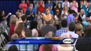 Clinton addresses email controversy in NH visit
