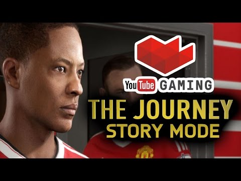 FIFA 17 The Journey Alex Hunter Manchester United (Cool Personality Playthrough) - Part 1