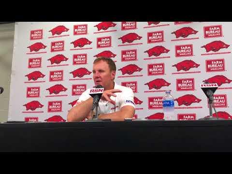 HawgBeat.com - Chad Morris Post-Game Presser Arkansas Beats EIU