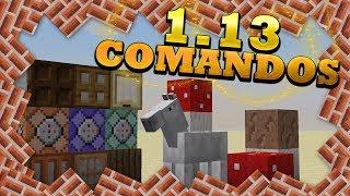 Los nuevos COMANDOS de la 1.13