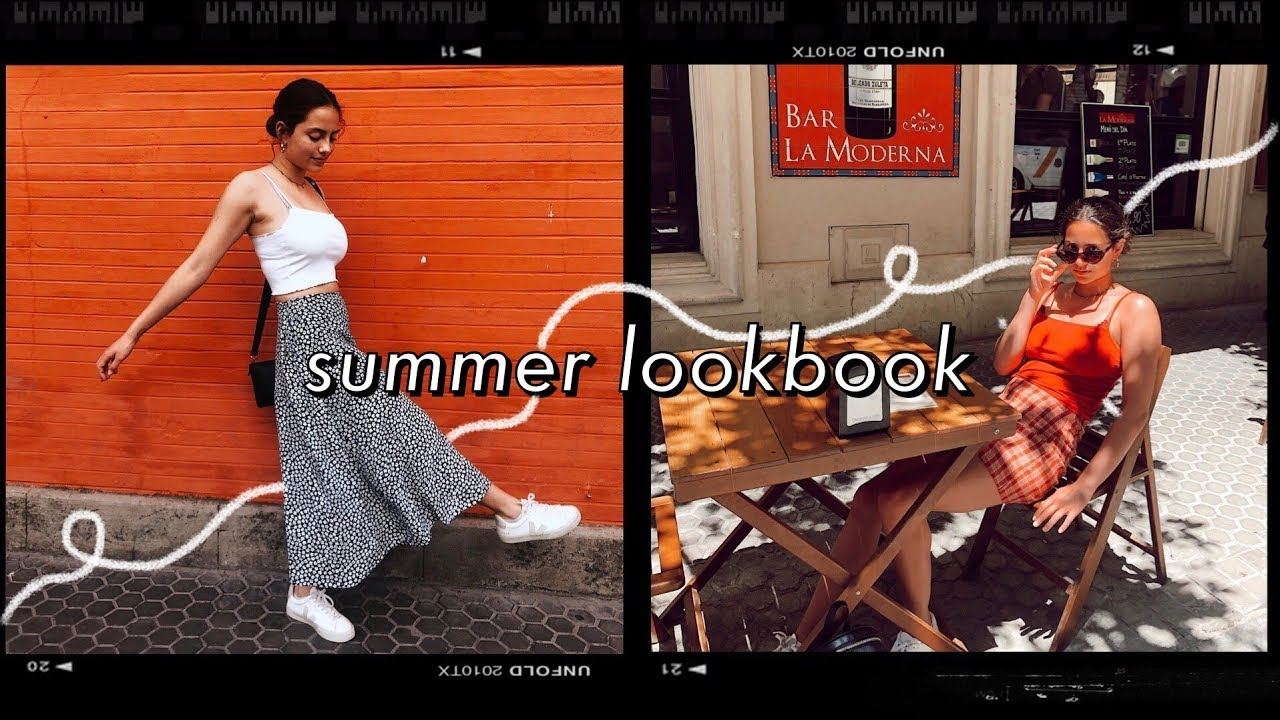 SUMMER LOOKBOOK // a week of outfits in SPAIN ☼ 2