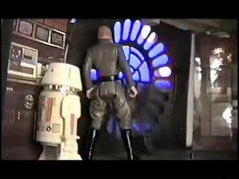 STAR WARS Action Figure Theater - PREQUEL Episode 01