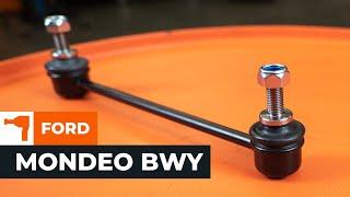 Jak i kiedy wymienić Drążek wspornik stabilizator przednie prawy FORD MONDEO III Estate (BWY): instrukcje wideo