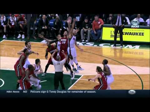 Khris Middleton's game-winning buzzer beater against Miami