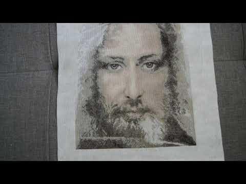 Обзор вышитой работы Чаривна Мить Набор для вышивки крестиком Чарівна Мить