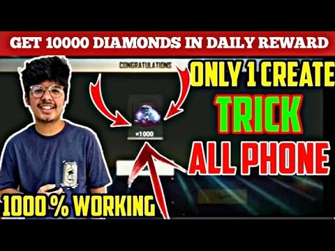 How to get unlimited diamonds in free fire/get unlimited diamonds for free no money/hack ff diamonds from YouTube · Duration:  4 minutes 13 seconds