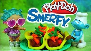 Smerfy • Wielka Gwiazda w Restauracji • LOL Surprise & Play Doh • Bajki i kreatywne zabawki