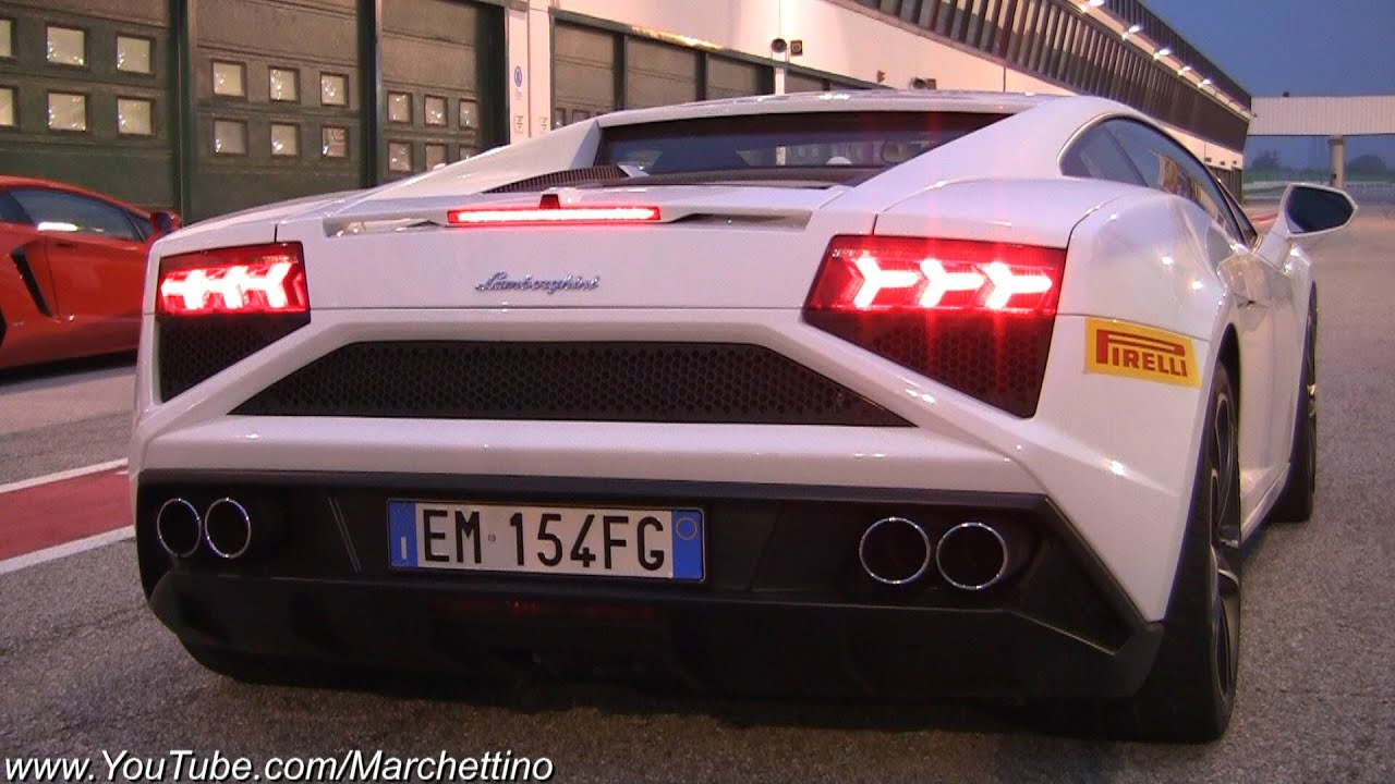 Nice 2013 Lamborghini Gallardo LP560 4 Start And Accelerations   YouTube