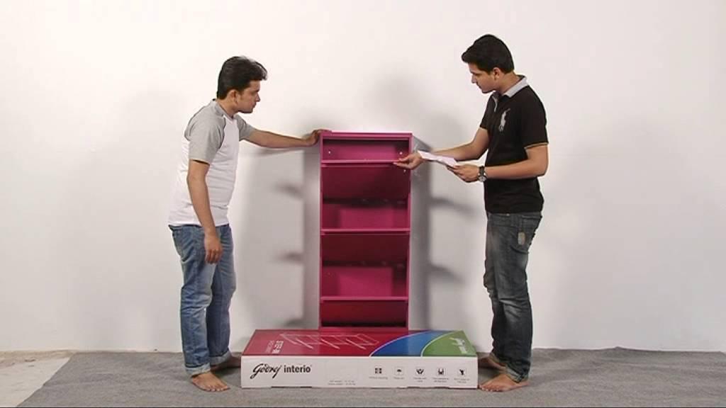 Godrej Interio Step In Shoe Cabinet Installation Video Youtube