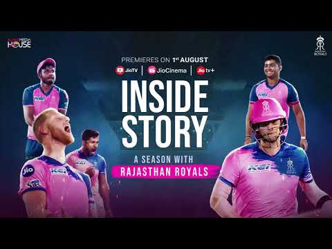 Official Trailer | Inside Story A Season With the Rajasthan Royals | JioCinema