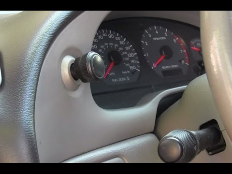 How To Replace Mustang Headlight Switch And Knob 1994 - 2004 - YouTube