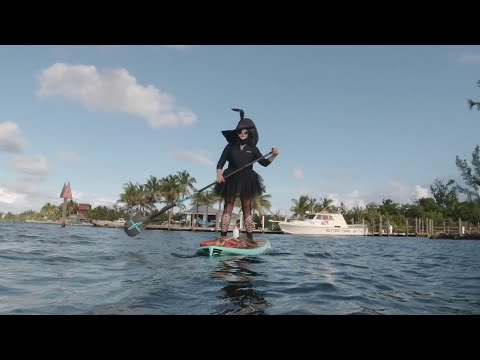 Jodi Stewart - Witches Paddle Boarding in the Florida Keys