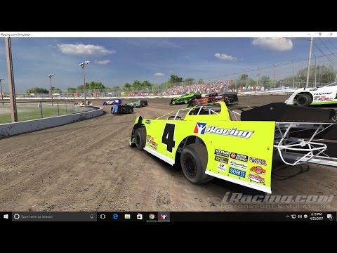 iRacing Dirt: Pro Late Models @ Volusia Speedway