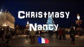 Christmas market in Nancy France 2017   Marché de noël de Nancy  Christmas Around The World #4