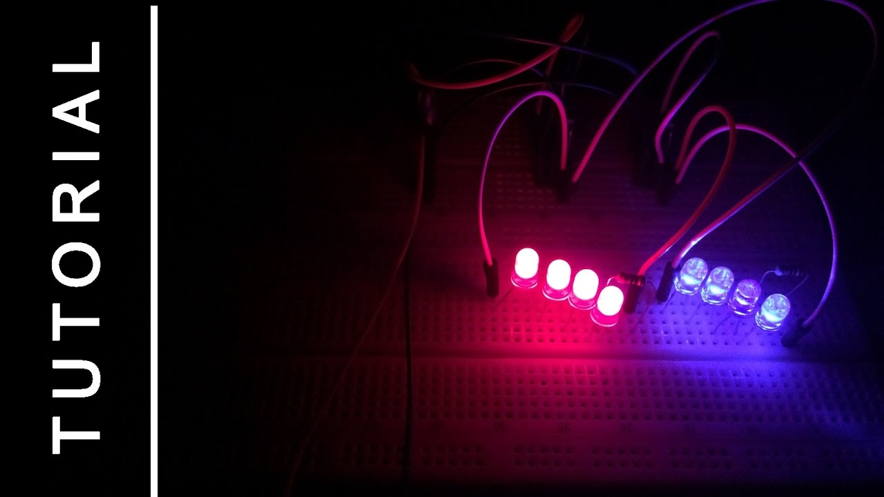 Tutorial 555 Timer Circuits Police Lights Red Blue Youtube Lm555 Pearltrees