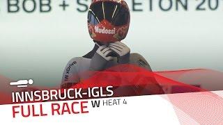 Innsbruck-Igls | BMW IBSF World Championships 2016 - Women's Skeleton Heat 4 | IBSF Official