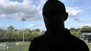 Chris Hughes TNS post match interview