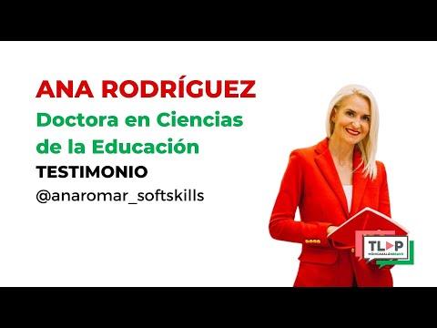 """Programa de mentoría """"Traspasa la Pantalla"""". Ana Rodríguez, profesora de la Universidad de Zaragoza."""