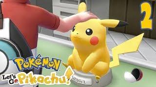 PIERWSZA EWOLUCJA! [#2] Pokemon: Let's GO Pikachu!