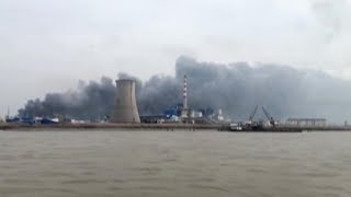 Blast rocks chemical plant in east China, casualties unknown