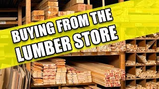Buying Wood from the Lumber Yard: Money Saving Hacks for Woodworking Part 4