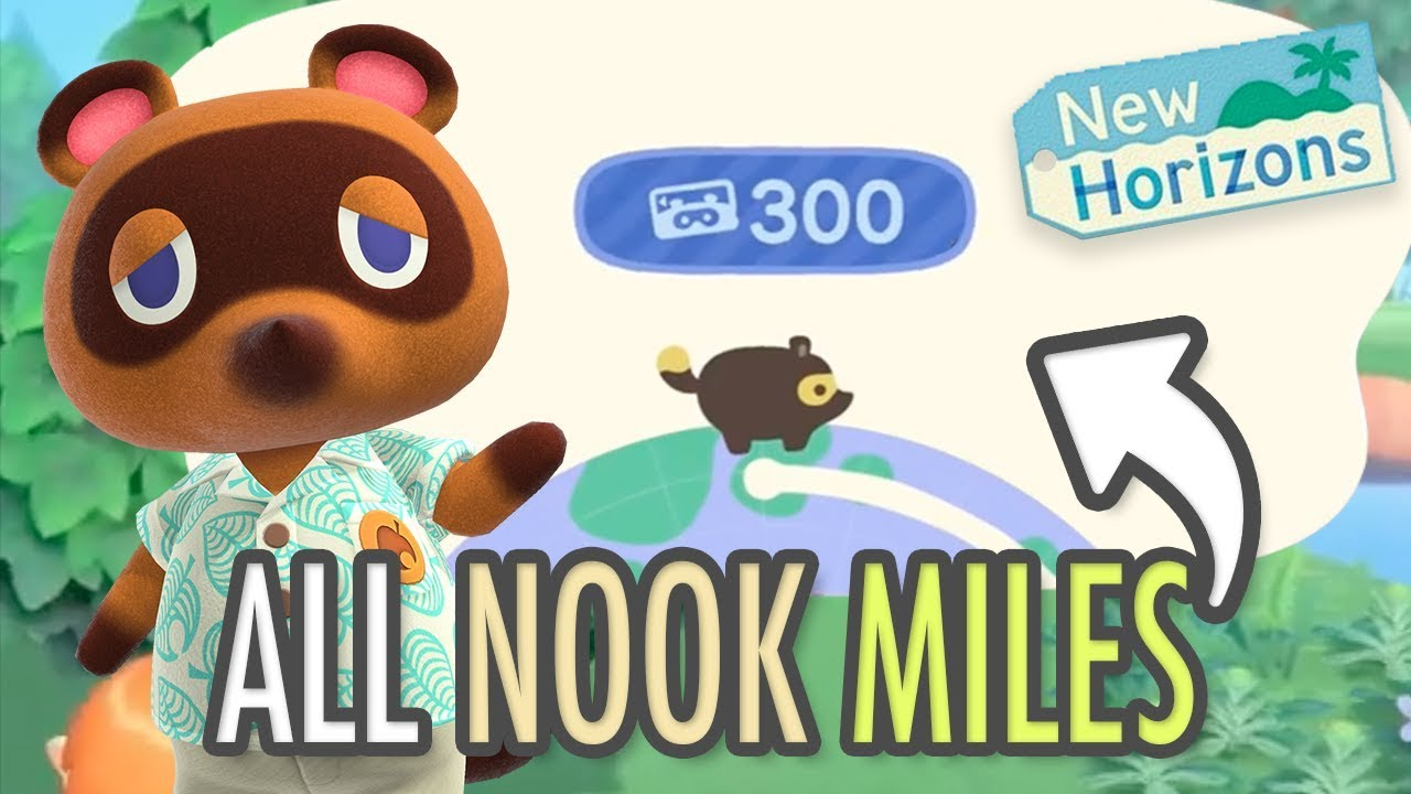 Image result for Animal Crossing New Horizons Nook Miles