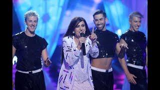 Pepa Aniorte imita a Daniela Romo con su tema 'Yo no te pido la luna' - Tu Cara Me Suena