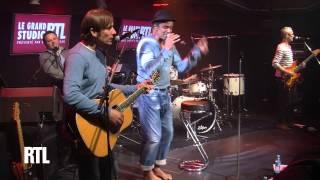 Yannick Noah - La voix des sages en live dans le grand Studio RTL présenté par Eric Jean-Jean.