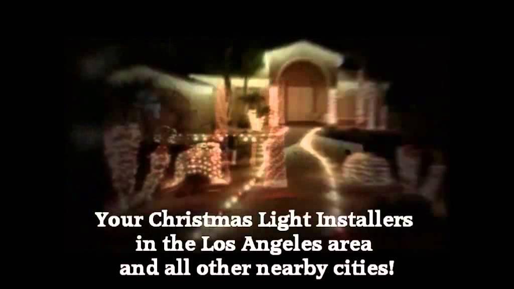 Christmas Light Installation South El Monte CA Call 310.598.7447