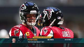 Peter King on What a Falcons Tear Down Would Mean for Matt Ryan | The Dan Patrick Show | 10/28/19