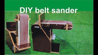 DIY belt sander - Tự chế máy chà nhám băng